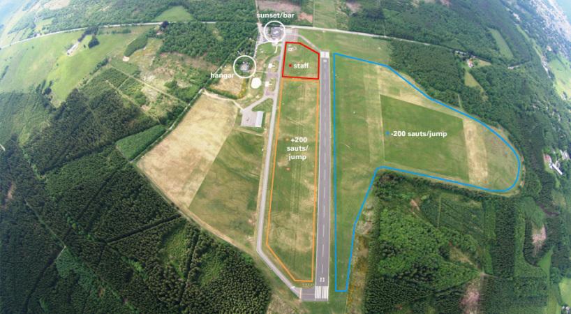 Skydive Spa Belgium